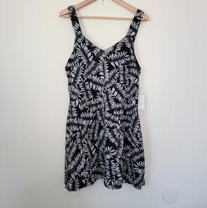 1.State leave print mini dress L